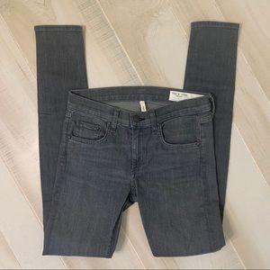 Rag & Bone Gray Skinny Jeans Size 27
